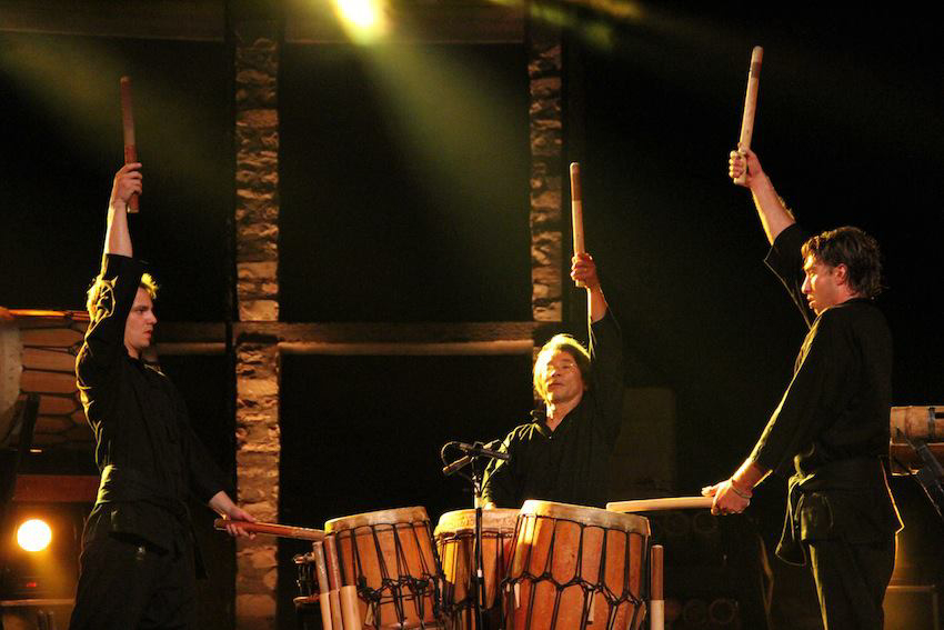 Bamboo Orchestra - Le trio - Photo Trio Alexandra Azarova