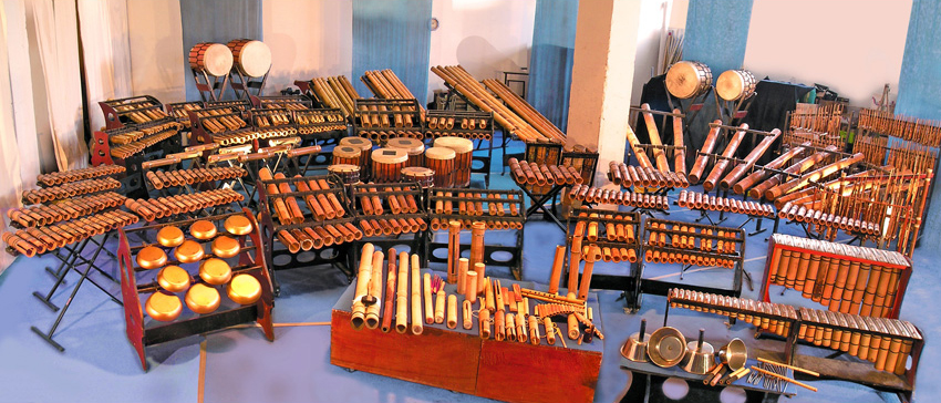 Le bamboo - Instrumentarium - Bamboo Orchestra - Visites participatives