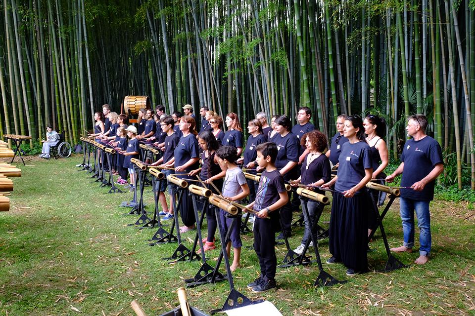 Activités - Les ateliers - Bamboo Orchestra