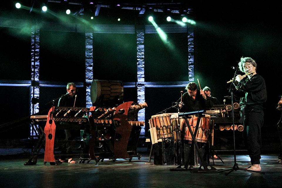 Activités - Les spectacles - Bamboo Orchestra - Photo Alexandra Azarova B.O