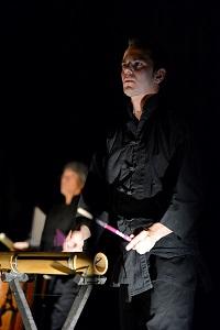 Nathanael Pinna du Bamboo Orchestra