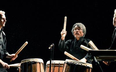 Le trio du Bamboo Orchestra en concert